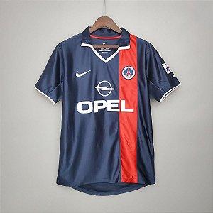 "Camisa Paris Saint Germain ""PSG"" 2001-2002 (Home-Uniforme 1)"
