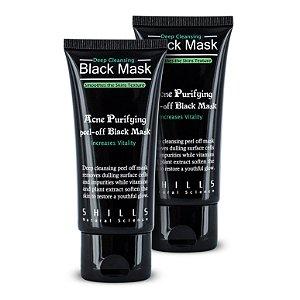 2 Máscaras Preta Shills 50ml