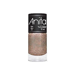 """Esmalte """"Anita"""" 10ml Glitter Chic 331"""