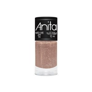 "Esmalte ""Anita"" 10ml Glitter Hard Core 382"