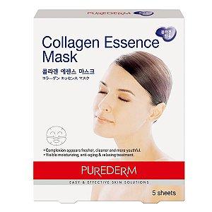 Máscara Hidratante de Colágeno - Purederm - ADS 172 Contém 5 máscaras/embalagem