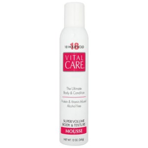 Vital Care Mousse Super Volume Body e Texture 18 Hours 340g
