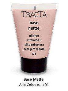 """Base Matte Alta Cobertura 01 """"tracta"""" - 40g"""