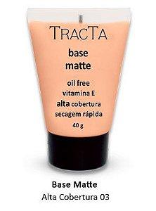"""Base Matte Alta cobertura 03 """"tracta"""" - 40g"""