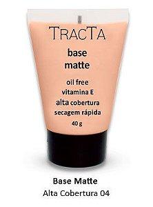 """Base Matte Alta cobertura 04 """"tracta"""" - 40g"""