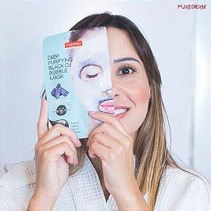 Máscara para o rosto para limpeza profunda, contendo extratos de carvão ADS370