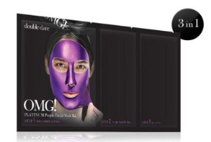 OMG! Platinum purple facial mask kit