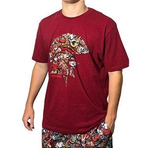 Camiseta Kevland Grafite II Vermelho