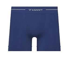 Cueca Boxer Torp Microfibra Sem Costura Azul Gean - Ref 8001
