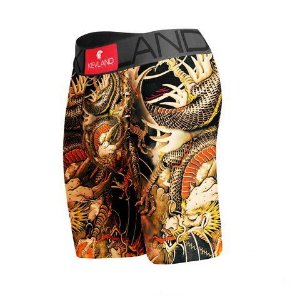 Cueca Boxer Long Leg Kevland Dragon Tattoo