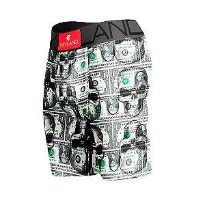 Cueca Boxer Long Leg Kevland Dolar Skulls II