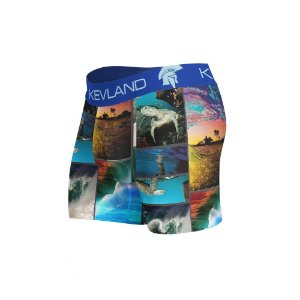 cueca boxer waves kevland azul