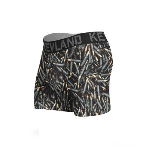 cueca boxer kevland bullets preto
