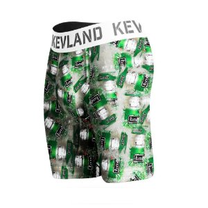 cueca boxer long leg kevland beer on ice verde