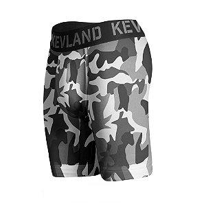 cueca boxer long leg kevland camuflado chumbo