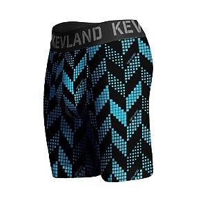 cueca boxer long leg kevland sport azul blue crew