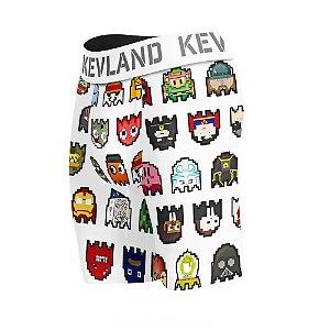 cueca boxer long leg kevland pixel branco