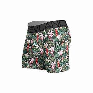 cueca boxer kevland floral kvlnd verde