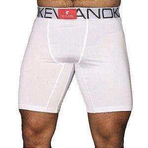 Cueca Boxer Long Leg Kevland Microfibra Branca