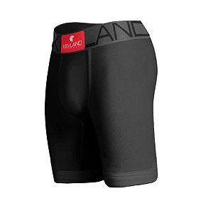 Cueca Boxer Long Leg Kevland Microfibra Preta