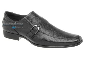 Sapato social em couro cor preto REF. 361-46518