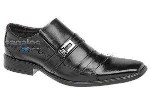 Sapato social em couro cor preto REF. 363-45117