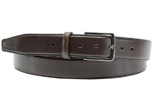 Cinto masculino em couro tamanho extra gigante para cinturas de 168cm até 186cm cor café REF. 3108-060