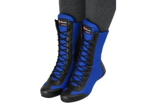 Bota Fitness Feminina de Cano Longo Cor Azul REF. 1058-232