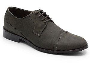 Sapato social em couro cor café fosco REF. 565-15754