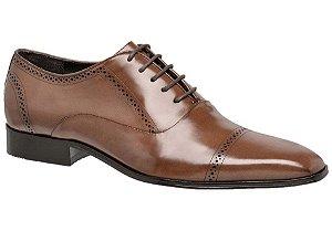 Sapato social clássico em couro cafe REF. 948-18773