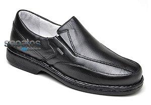 Sapato Conforto Levíssimo em Couro Preto