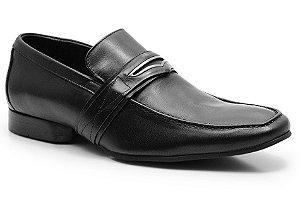 Sapato social masculino em couro cor preto REF. 547-15104