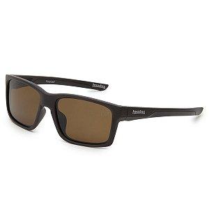 Óculos de Sol Pressão Rural Acetato Masculino Marrom