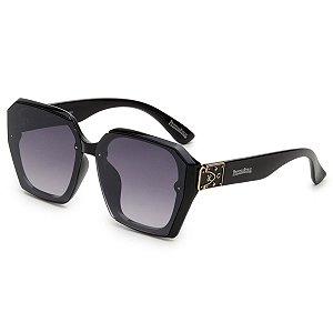 Óculos de Sol Pressão Rural Acetato Feminino Preto