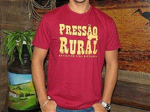 Camiseta Pressão Rural - Vermelha PR