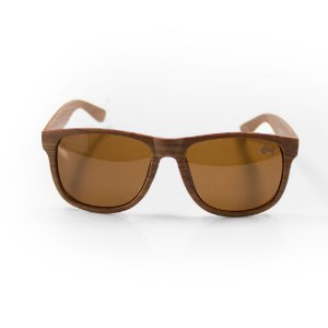 Óculos De Sol - Pressão Rural  Madeira Rústica