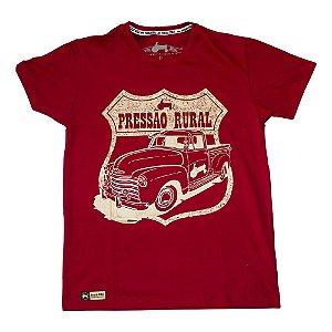 Camiseta Pressão Rural - Route Rural CHEVROLET 3100 Vinho