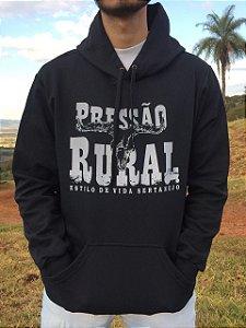 Moletom Pressão Rural - Preto Cranio de Touro