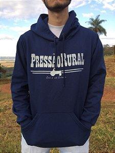 Moletom Pressão Rural - Azul Marinho Logotipo Tradicional