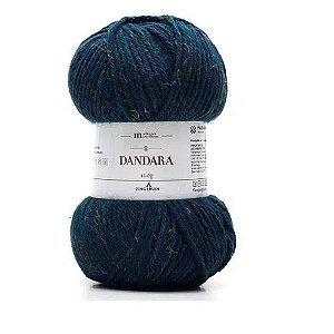 FIO DANDARA PINGOUIN COR 3504 BLUE TWEED 100 GR