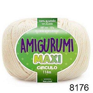 FIO AMIGURUMI MAXI 135 GR 114 MTS COR 8176 OFF WHITE
