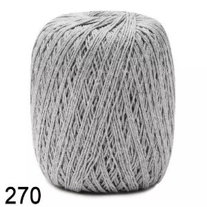 LINHA ECOTRAMA 200 GR 4-8/8 COR-270 CINZA