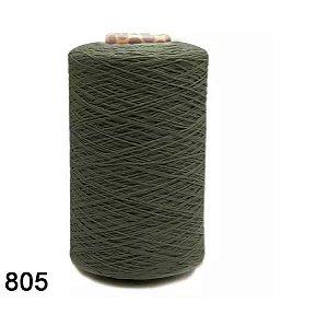 BARBANTE FIO 6 COR 805 VERDE MILITAR EUROROMA 1,8KG