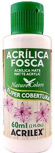 TINTA ACRILICA FOSCA ROSA BEBÊ NAT. COLORS 60 ML ACRILEX