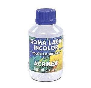 GOMA LACA INCOLOR COLORSS SHELLAC ACRILEX 100 ML