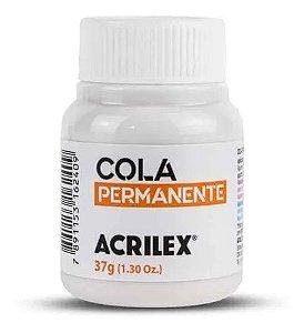 COLA PERMANENTE ACRILEX 37 ML