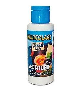 MULTICOLAGE TEXTIL 60G ACRILEX