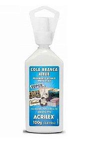COLA BRANCA ATELIÊ SUPER ACRILEX 100 G