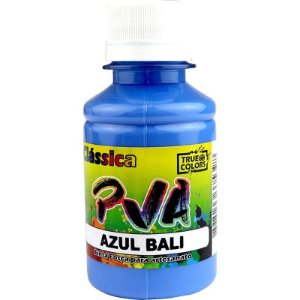 TINTA PVA FOSCO TRUE COLORS AZUL BALI 100 ML