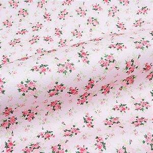 Feltro Floral Color Baby Rosa 5030.014 Santa Fé - Medidas 0,40x1,40